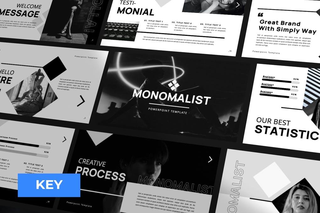 Monomalist Business Keynote Presentation