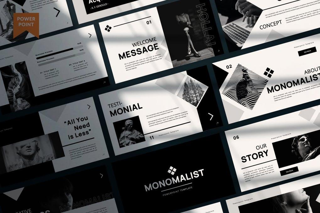 Monomalist Business Presentation