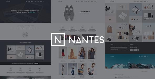 Nantes v1.75 - Creative Corporate WordPress Theme