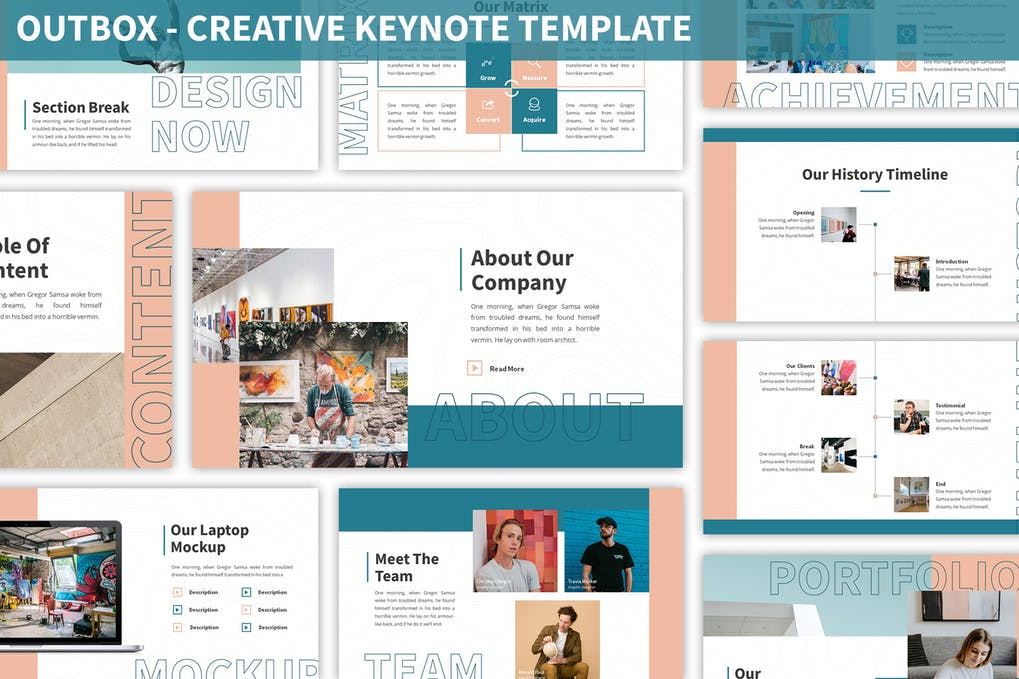 Outbox - Creative Keynote Template