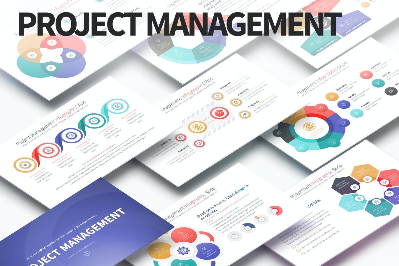 Project Management-PowerPoint Infographics Slides