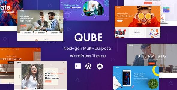 Qube v1.0.4 NULLED - Responsive Multipurpose WP Theme
