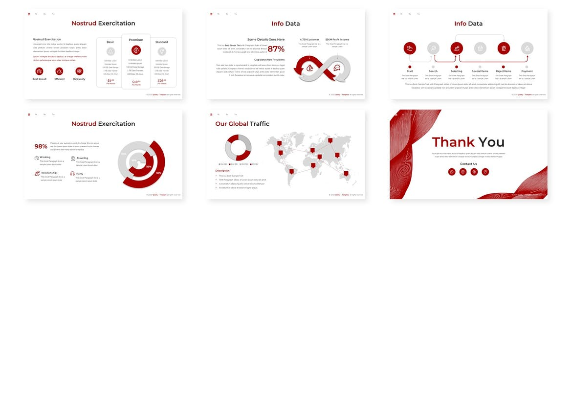 Quicky - Multipurpose Powerpoint Template