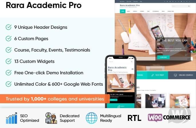Rara Academic Pro v2.2.7 NULLED