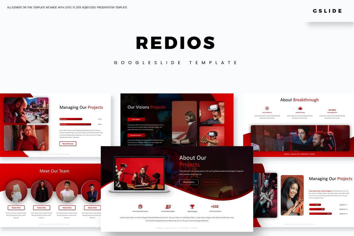 Redios - Google Slides Template