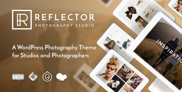 Reflector - WordPress Photo Gallery Template