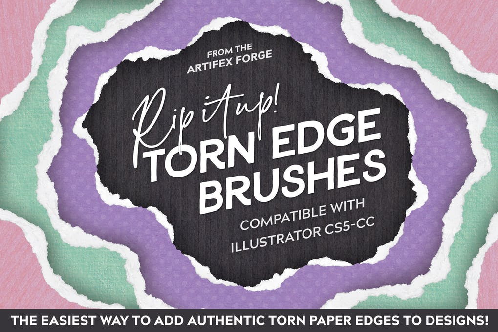 Rip It Up! - Torn Edge Brushes