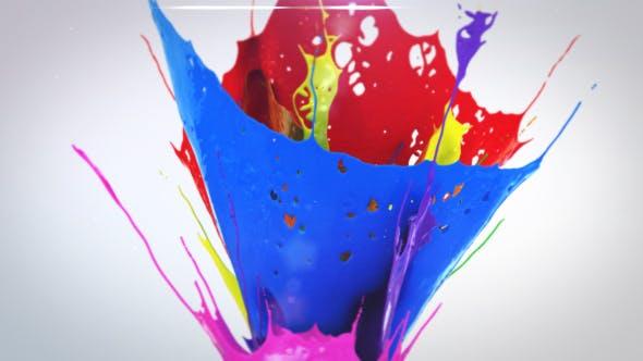 Rising Paints Logo Reveal