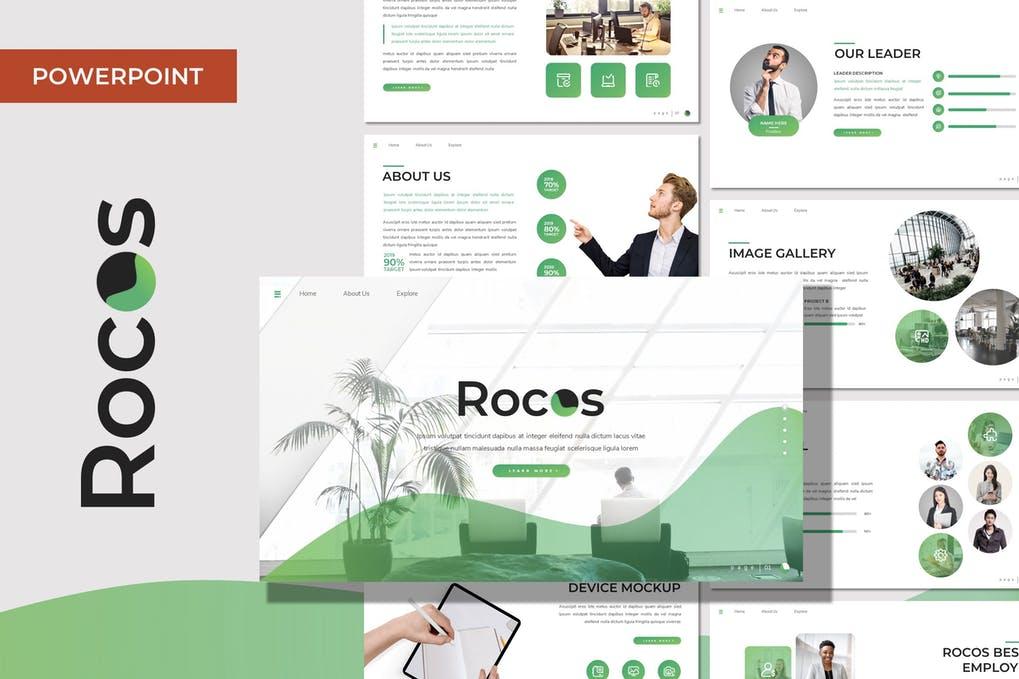 Rocos - Multipurpose Powerpoint Template