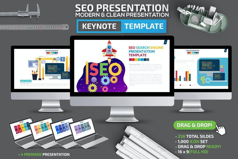 SEO Infographic Keynote