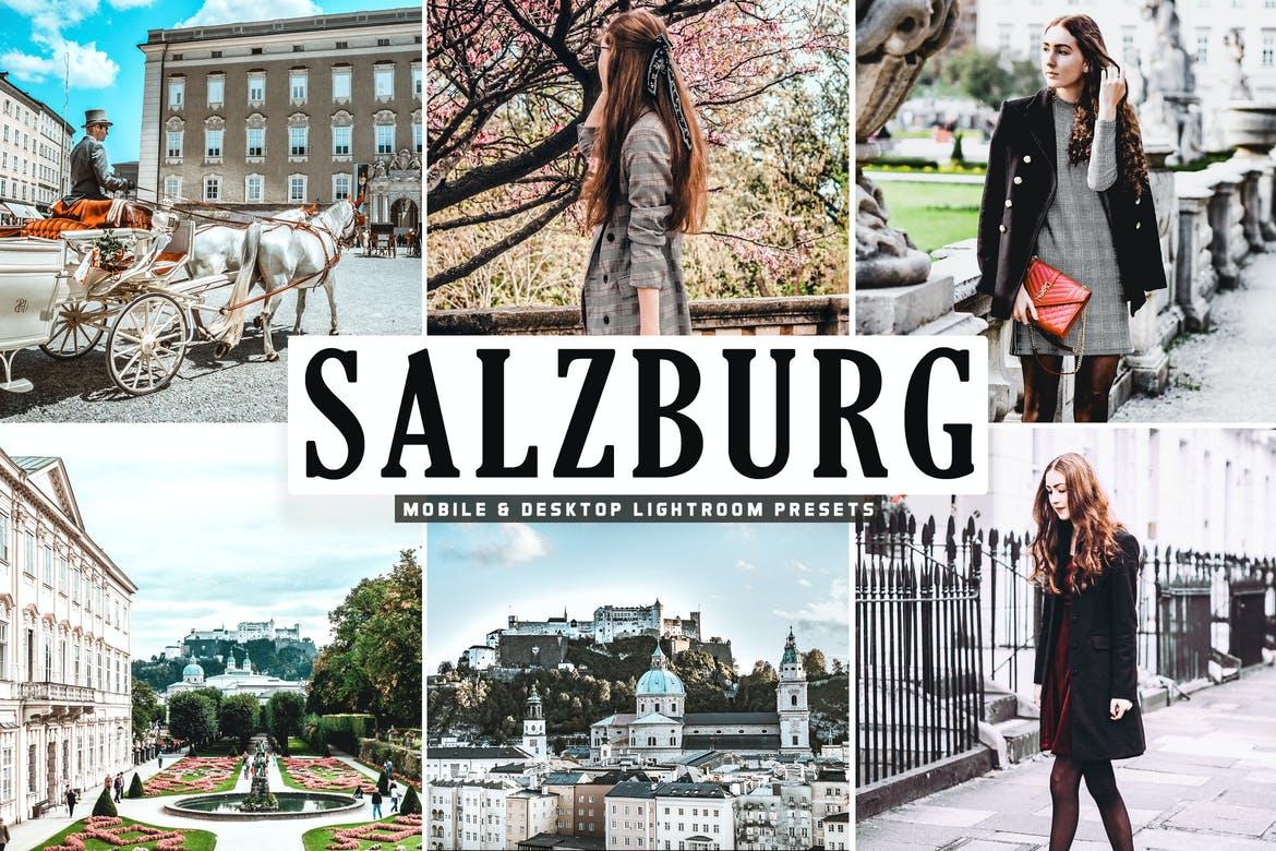 Salzburg Mobile & Desktop Lightroom Presets