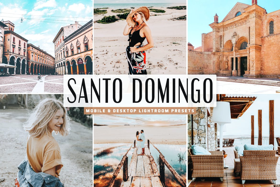 Santo Domingo Mobile & Desktop Lightroom Presets