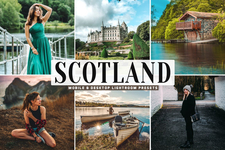 Scotland Mobile & Desktop Lightroom Presets