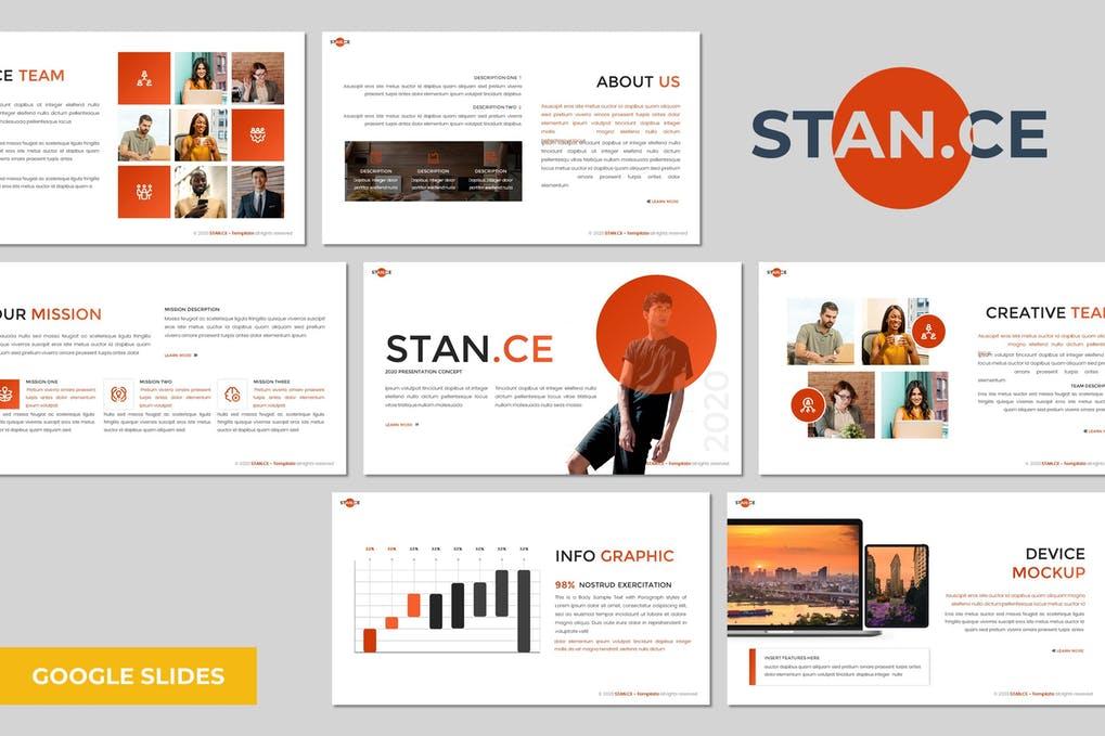 Stance - Multipurpose Google Slides Template