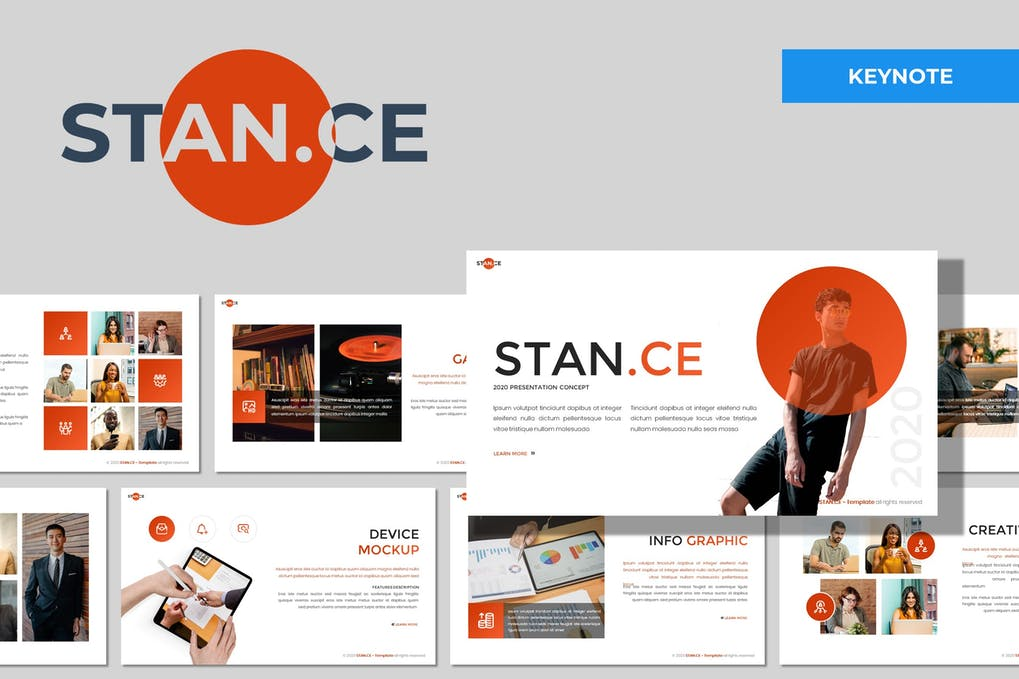 Stance - Multipurpose Keynote Template
