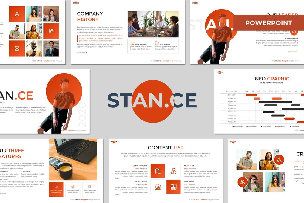 Stance - Multipurpose Powerpoint Template