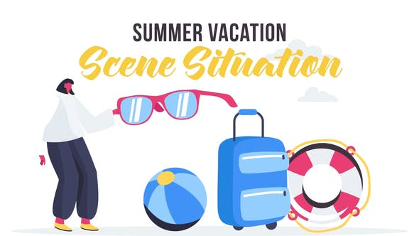 Summer vacation - Scene Situation
