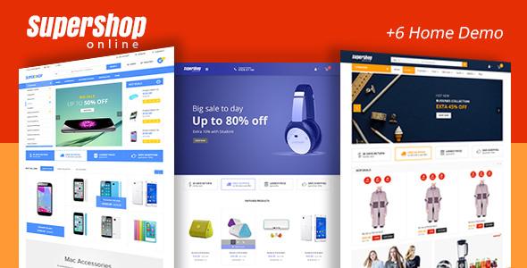 Super Shop v1.9 - Responsive WooCommerce WordPress Template