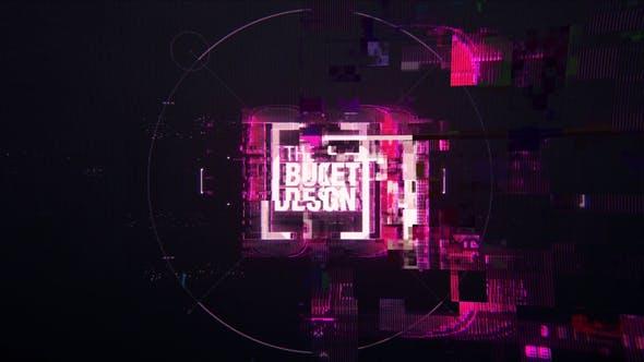 The Logo Glitch Animation Project