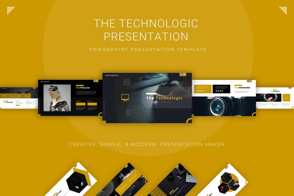 The Technologic - Powerpoint Template