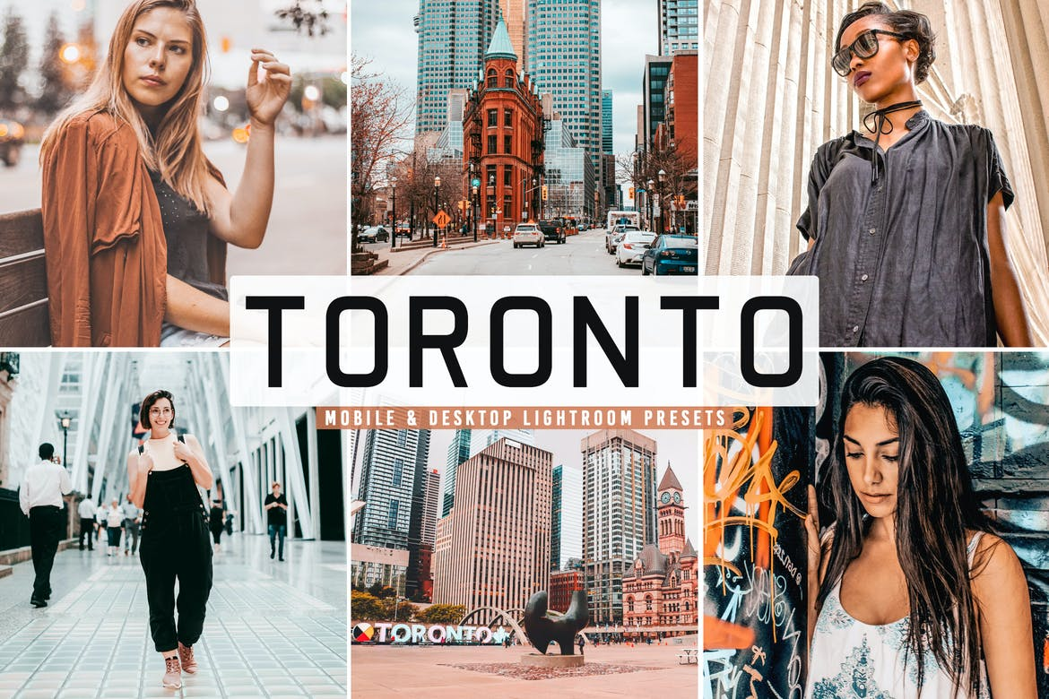 Toronto Mobile & Desktop Lightroom Presets