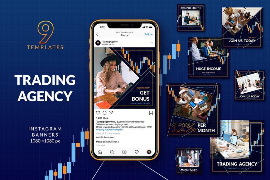Trading Agency Instagram