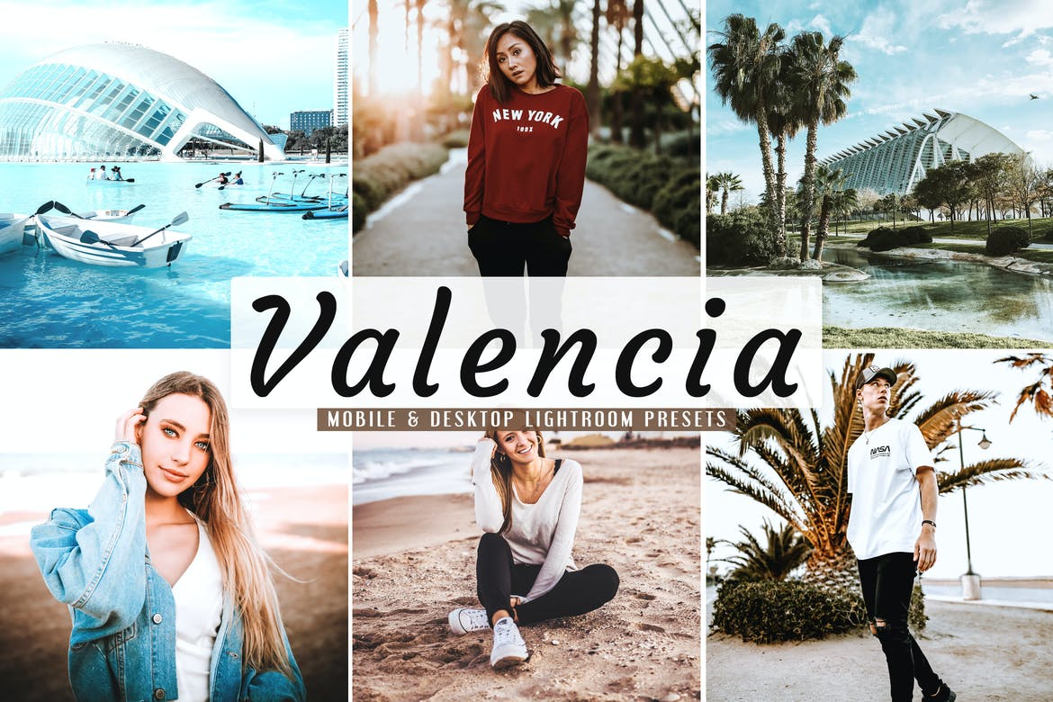 Valencia Mobile & Desktop Lightroom Presets