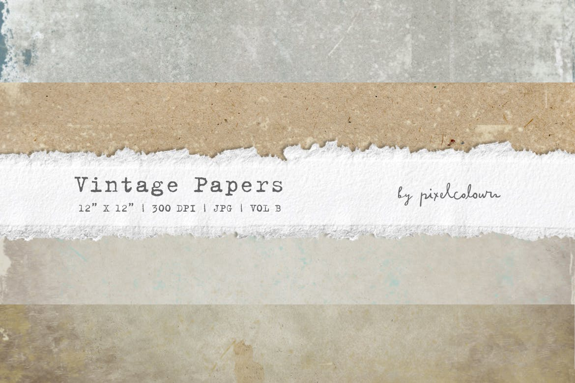 Vintage Papers or Backgrounds B