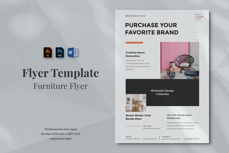 Vurnies - Furniture Flyer Template 06
