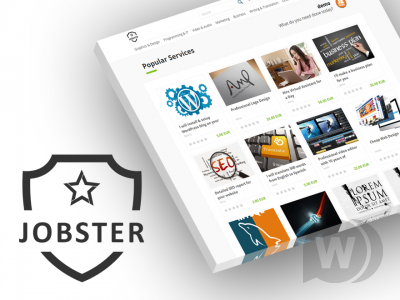 WPjobster v5.6.3 NULLED - premium WordPress theme for services and jobs market