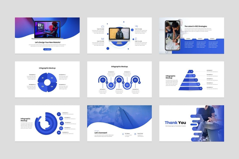 Web Design Agency Keynote Presentation Template