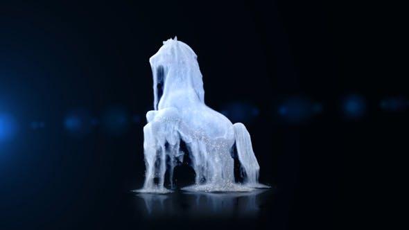White Horse Logo Reveal