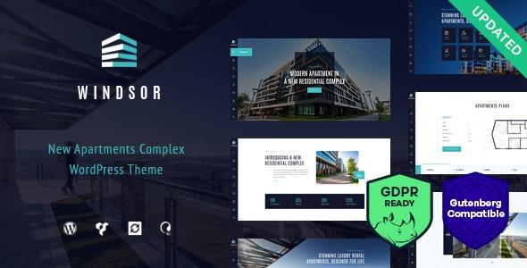 Windsor - Apartment Complex - Single Property WordPress Theme