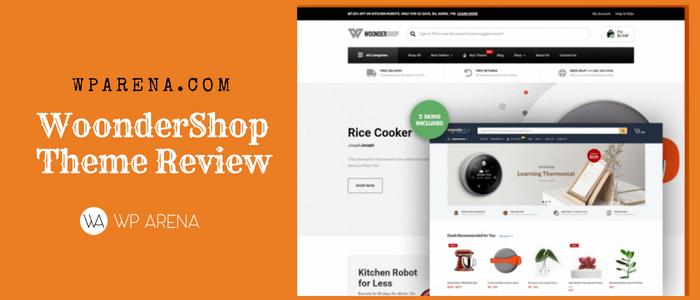 WoonderShop - WooCommerce Professional Theme