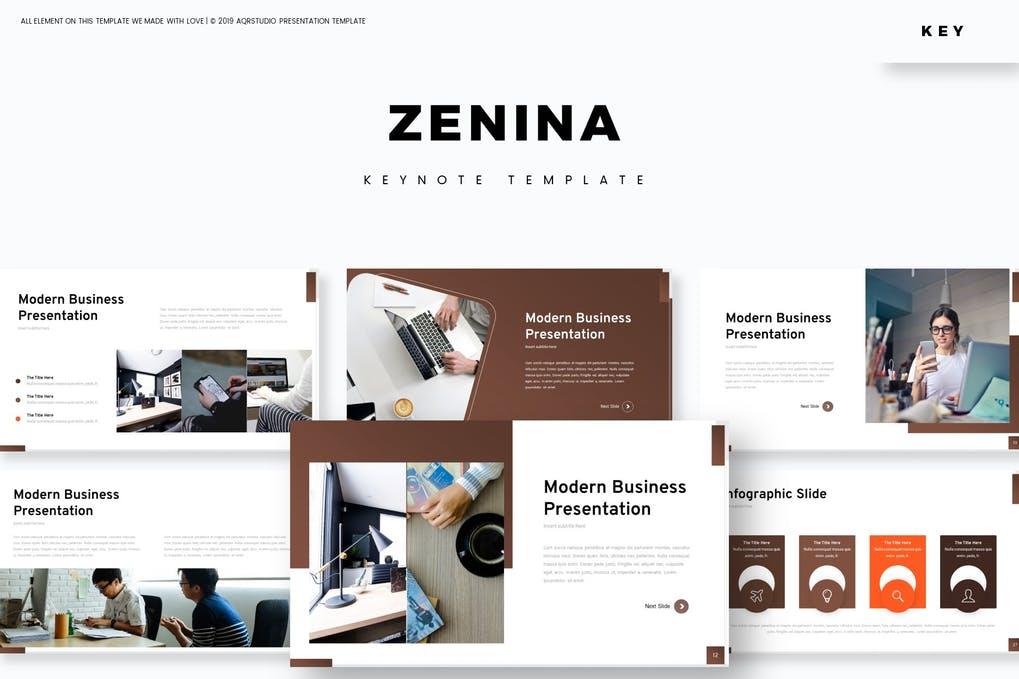 Zenina - Keynote Template
