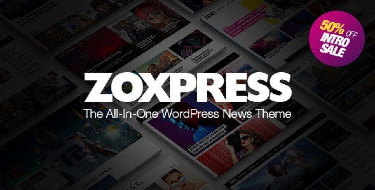 ZoxPress v1.07.0 - Universal WordPress News Theme