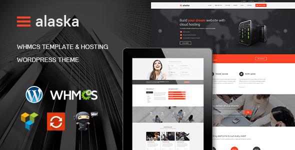 Alaska v4.2 - WordPress hosting template + WHMCS