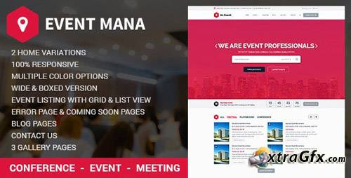 Event Management WordPress v1.8.5 - WordPress Event Template
