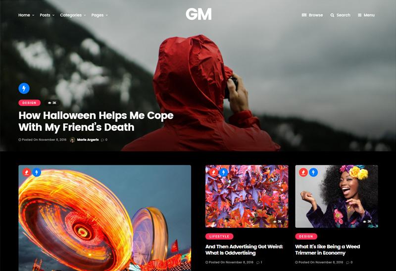 Grand Magazine - Blog WordPress