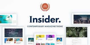 Insider v1.3 - WordPress blogging template