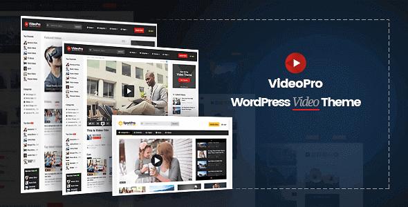 VideoPro v2.3.6.5 - Video WordPress Template