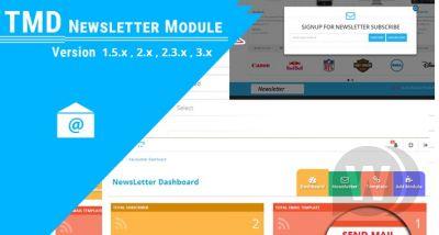 Advance Newsletter - OpenCart 2.x - 3.x newsletter subscription module