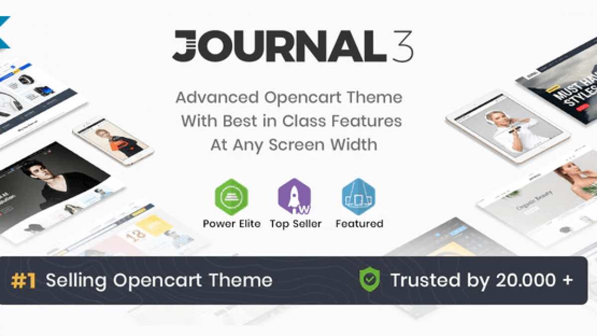 Journal 3.1.4 - universal template for OpenCart