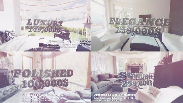 Luxury Slideshow, Real Estate & Hotel Resort Promo