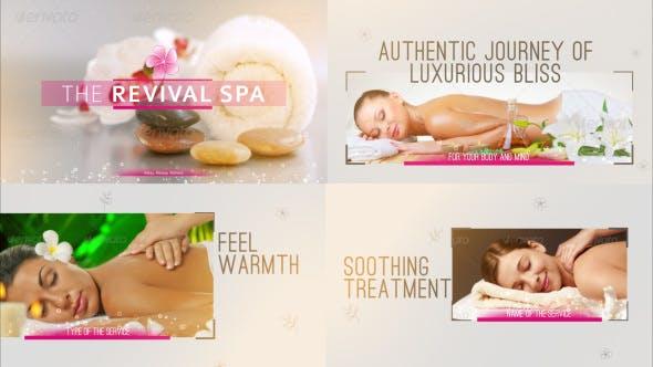Luxury Spa Showcase