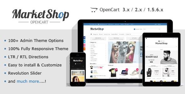 MarketShop v2.1.2 - Multipurpose OpenCart Theme