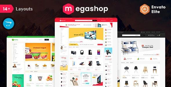 Mega Shop - Opencart 3 Multi-Purpose Responsive Theme