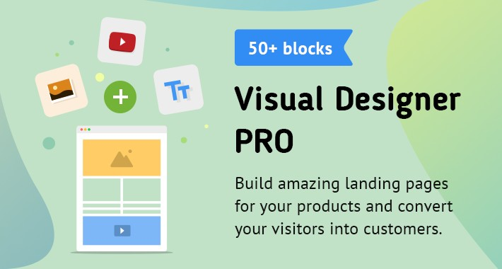 Visual Designer PRO - OpenCart page builder