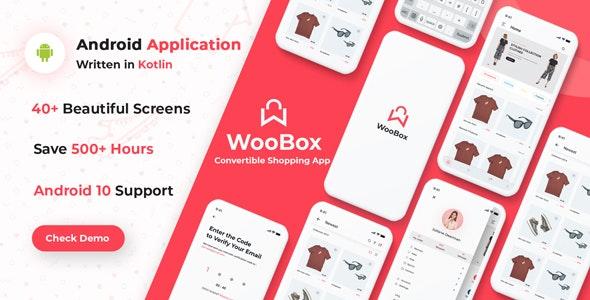 WooBox - WooCommerce Android App E-commerce Full Mobile App + kotlin