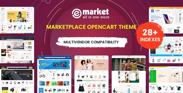 eMarket v1.2.0 - OpenCart 3 Multipurpose Store Theme